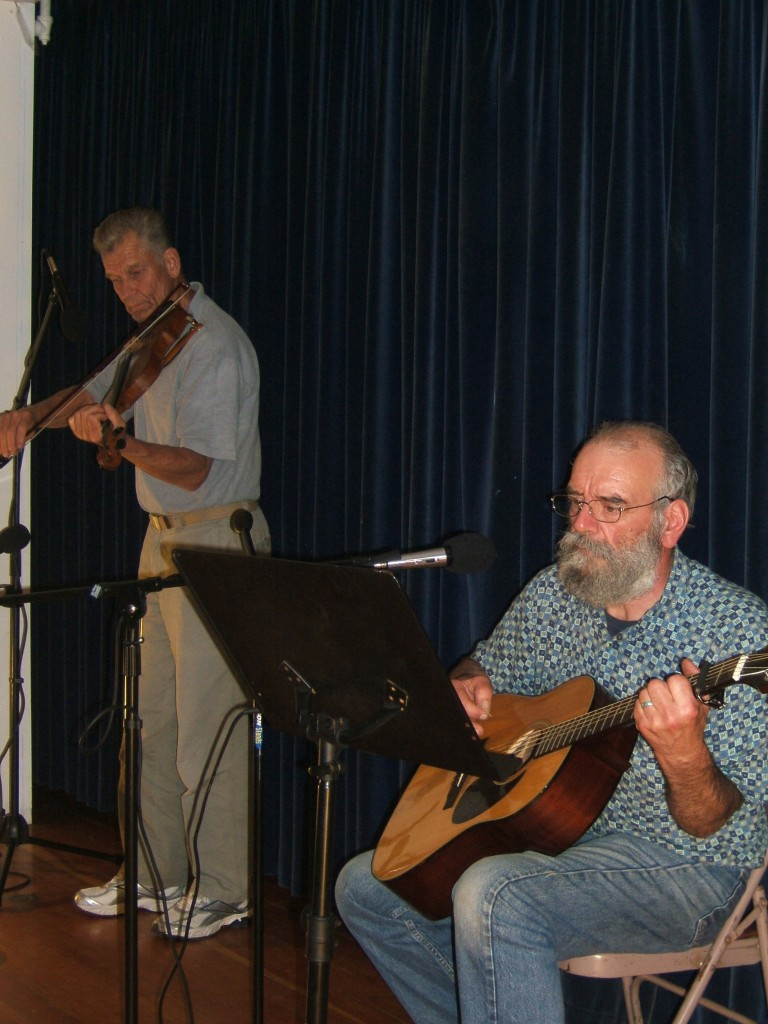 Rick Beausoleil with Fred Fowler on Fiddle