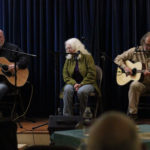 The Bone Orchard Ramblers (John Papp, Ursula Sturms Papp, and David Lister)