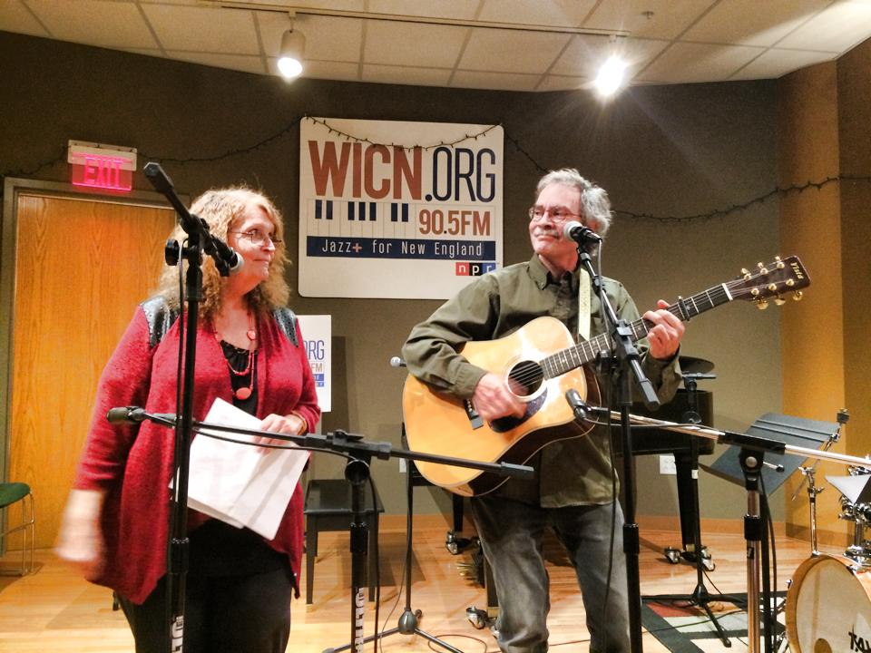 Owengale on stage at WICN 3-3-16