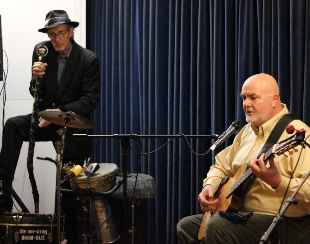 Steve Rapson, With Dennis Poitras on Percussion